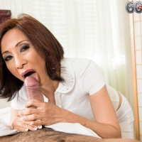 Over 60 mom Katherine Merlot fucking two studs