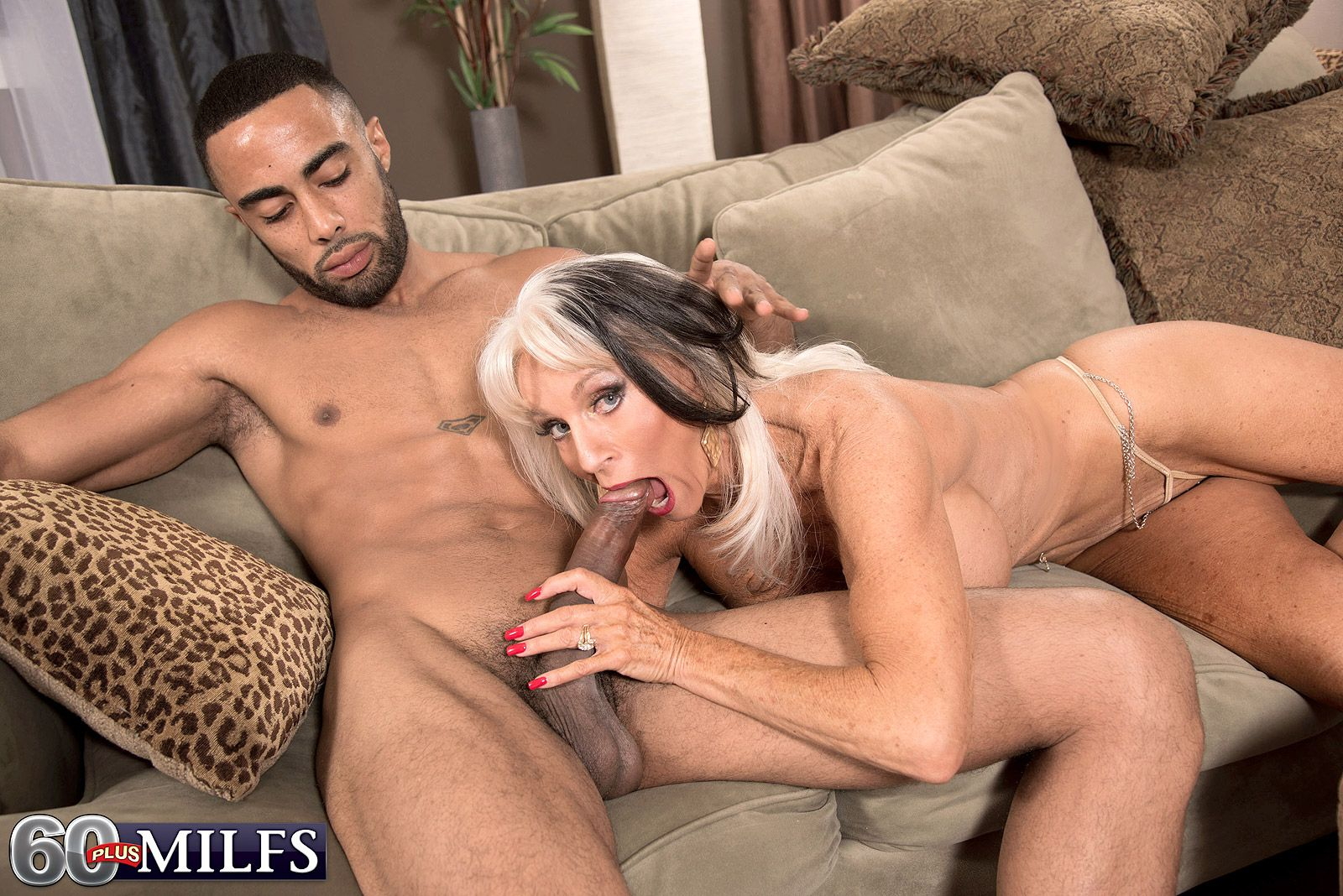 chesty older lady sally d'angelo giving titjob and bj in xxx granny