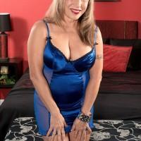 60 MILFS threesome sex action starring top rated granny pornstar Luna Azul