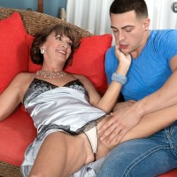 Latest 60 plus MILF to fuck a younger man is the sexy mature babe Sydni Lane