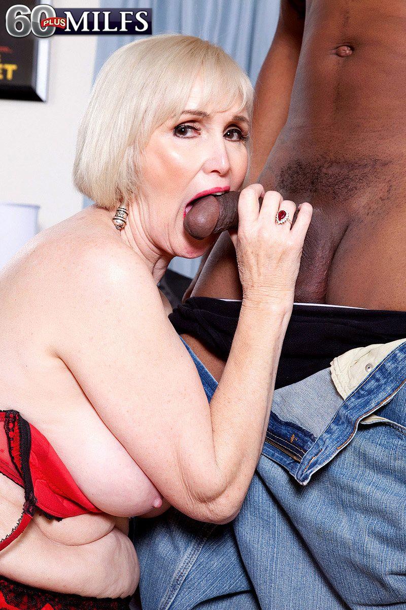 Old woman big cock