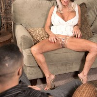Sally D'Angelo uses big knockers to tit fuck large cock in the latest 60plusmilfs.com update