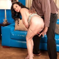 Mature brunette pornstar Rita Daniels fucking BBC in latest 60 Plus MILFs update