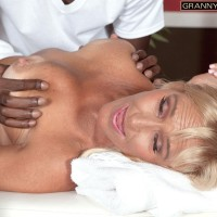 Tempting 60 + MILF Jeannie Lou Gets Backside Fucked