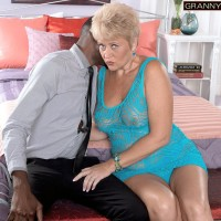 60 Plus Granny Tracy Licks Loves BBC