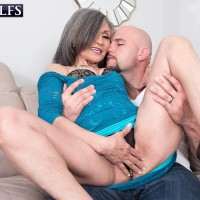 New 60plusmilfs.com update featuring silver-haired granny Kokie Del Coco