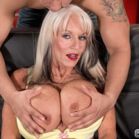 60 + Milf Sally D'Angelo Gets Her Butt Fucked