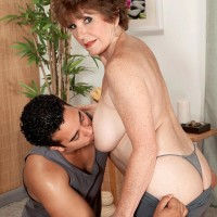 Older MILF Scarlet Andrews Is A Tempting 60 + Babe