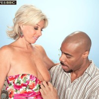 Mature over 60 woman Payton Hall takes the BBC