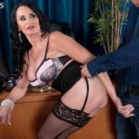 New 60+ Porn Photos Featuring Rita Daniels