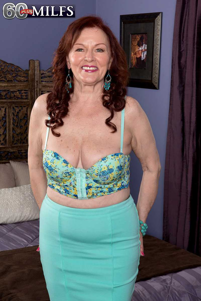 Older Babe Katherine Merlot Takes A Younger Man's dick