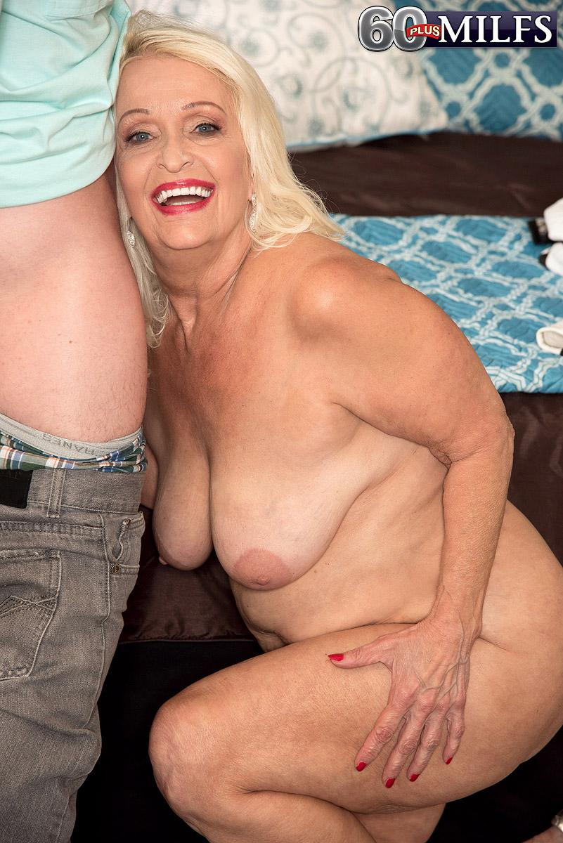 Plump Sixty Plus Milf Vikki Vaughn Extracting Plus Size Senior Gal Backside And Huge Breasts
