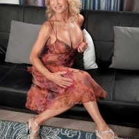 Foxy Sixty Plus Model Cara Reid Gets a Cumshot